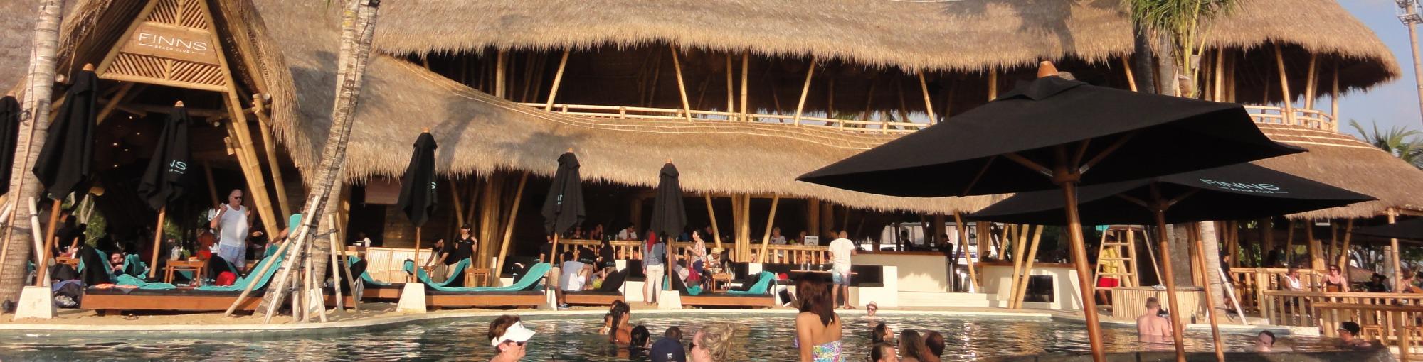 Finns Beach Club Yoma Villas Bali Luxury Private Accommodation