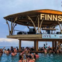 Finns Beach Club Canggu Infinity Pool