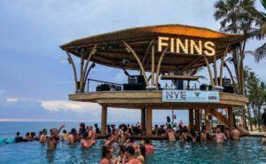 Finns Beach Club Canggu Infinity Pool