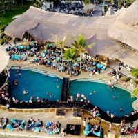 Finns Beach Club Canggu Top View
